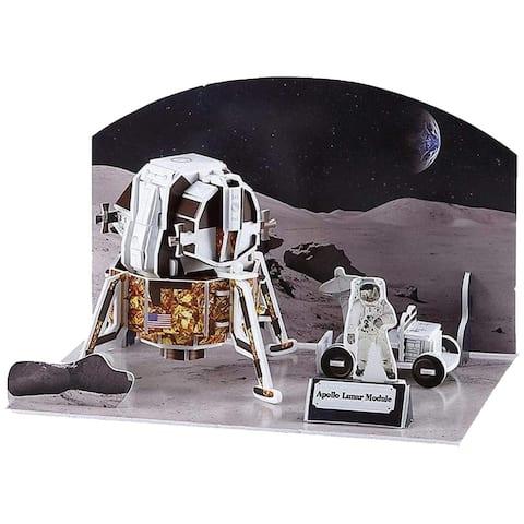 3D Puzzle Apollo Lunar Module (45pcs)