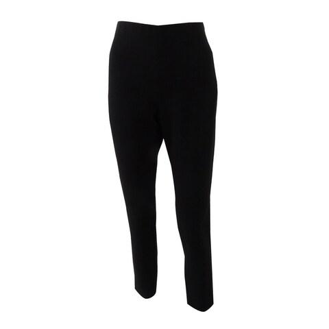 Tahari ASL Women's Chae No Waist Ponte Side-Zip Pants