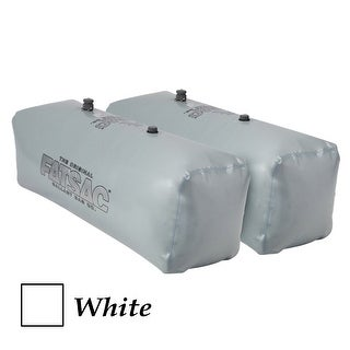 Fatsac V Drive Sac Pair 400 Pounds Each White W701 White