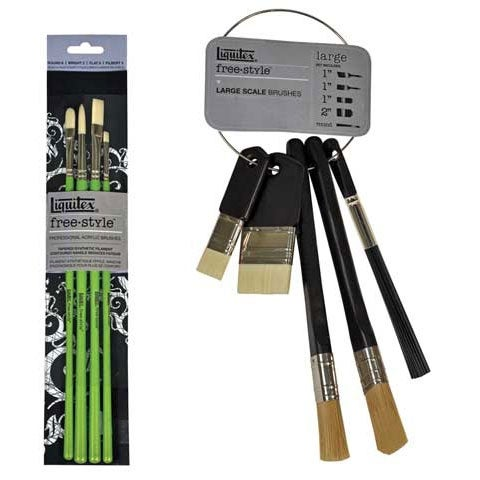 Liquitex Professional Freestyle Traditional Brush 4-Piece Set
