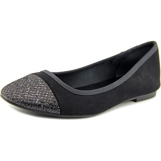 Style & Co Tiffane Pointed Toe Canvas Flats