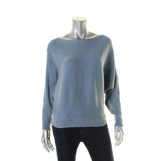 Lauren Ralph Lauren Womens Petites Pullover Sweater Dolman Boatneck - ps