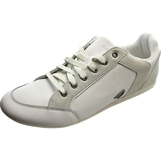 Diesel Wanted II Round Toe Leather Sneakers