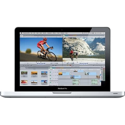 "Apple MacBook Pro MC700LL/A 13.3"" 4GB 320GB Intel Core i5-2415M,Silver(Certified Refurbished) - Silver"