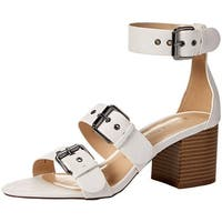 Athena Alexander Womens tex Open Toe Casual Slingback Sandals