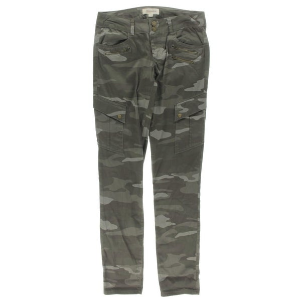 69c706b67a7f5 Shop Rewind Womens Juniors Cargo Pants Twill Camouflage - Free ...