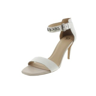 Joe's Womens Maddie Leather O-Ring Heels