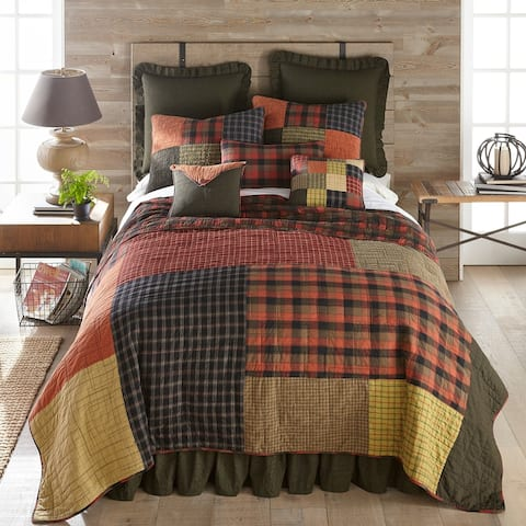 Donna Sharp Woodland Square Quilt Set