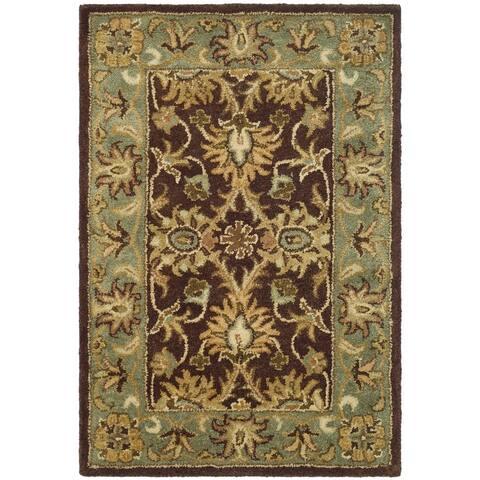 SAFAVIEH Handmade Antiquity Rosina Traditional Oriental Wool Rug