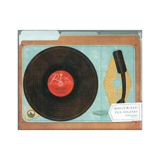 Molly & Rex File Folder Record Player 10pc