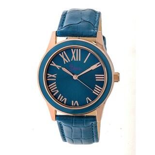 Boum Moue Women's Quartz Watch, Genuine Leather Band