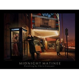 ''Midnight Matinee'' by Chris Consani Humor Art Print (11 x 14 in.)