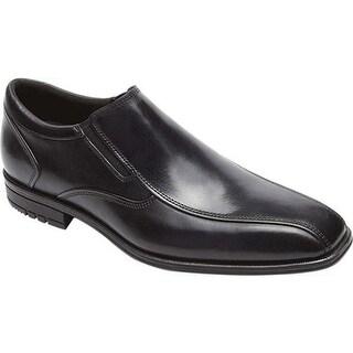 Rockport Men's Fairwood Fassler Slip On Black Leather