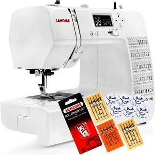 Janome DC1050 Computerized Sewing Machine + 5-Piece VIP Package