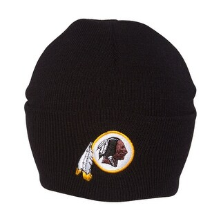 Washington Redskins NFL Cuff Beanie - Black - Washington Redskins