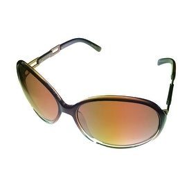 Esprit Sunglass 19343 535 Womens Brown Fade Round Fashion, Brown Gradient Lens