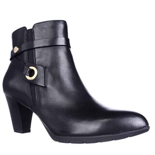 Anne Klein Chelsey Dress Ankle Boots, Black