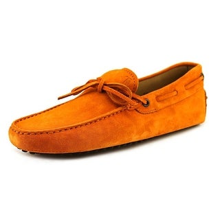Tod's New Laccetto Occh. New Gommini 122 Moc Toe Suede Loafer