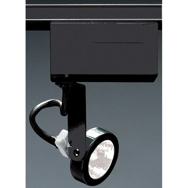 Nuvo Lighting Th239 Single Light Mr16 12v Gimbal Ring Track Head Black Overstock 13010173