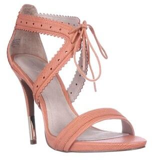 Pour La Victoire Shanna Front Tie Sandals - Coral