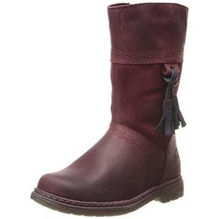 Timberland Girls Amesbury Brogue Leather Cowboy, Western Boots - 4 medium (b,m)