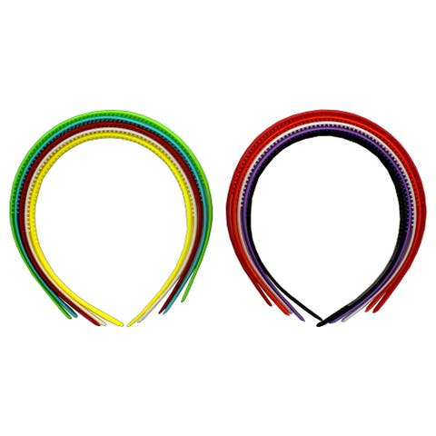 PA Ess Headband 8mm 5pc Astd Colors