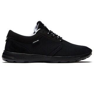 SUPRA Womens hammer run Low Top Lace Up Running Sneaker - Black Black - 7