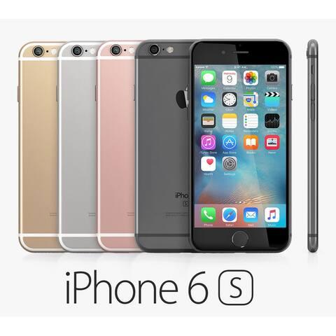 Apple iPhone 6S 64GB Factory Unlocked 4G LTE Phone (AT&T Verizon T-Mobile) w/12MP Camera (Open Box)