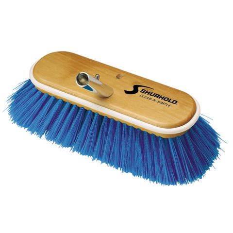 Shurhold 10 deck brush extra soft blue nylon 975