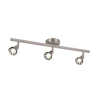 Trans Globe Lighting W-493 3 Light Semi Flushmount Ceiling Track Spot Light from the Contemporary Collection