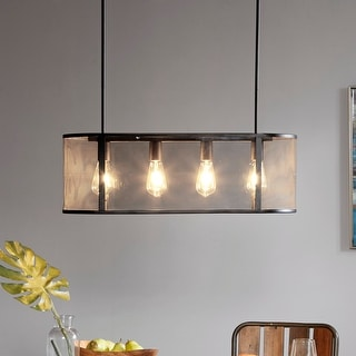Link to Hopkins Black Pendant Light by INK+IVY Similar Items in Pendant Lights