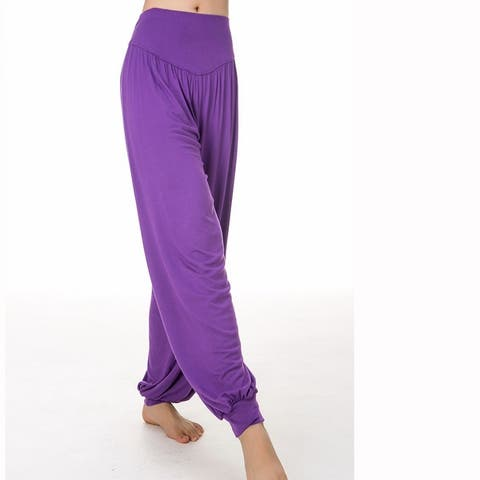 Women Casual Pants Long Leggings Loose Plus Size Yoga Pants
