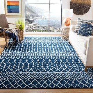 Link to Safavieh Tulum Lelya Moroccan Boho Rug Similar Items in Rugs