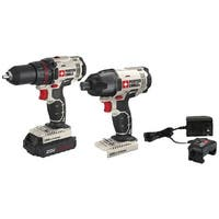 PORTER-CABLE(R) PCCK604LA 20-Volt MAX* Cordless 2-Tool Combo Kit with Battery