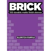 Standard CCG Size - Brick, Eldritch Purple (100) SW