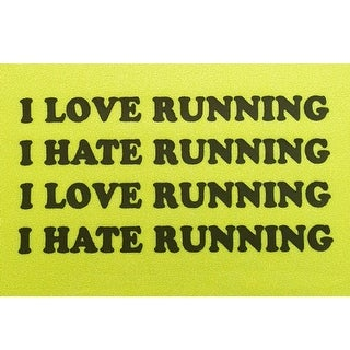 "Hippie Runner ""I Love Running, I Hate Running"" Headband"
