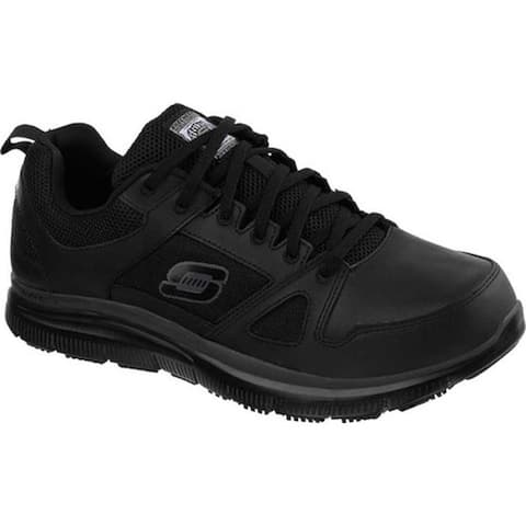 Skechers Men's Work Relaxed Fit Flex Advantage SR Black
