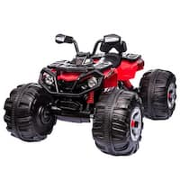 Costway Kids Ride On ATV Quad Electric Toy Car Battery Powered MP3