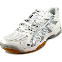 Asics Gel-Rocket 6 Women White/Silver Tennis Shoes