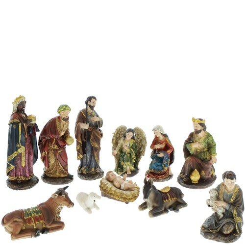 12 Piece Nativity Set