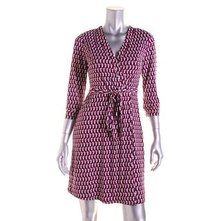 Laundry by Shelli Segal Womens 3/4 Sleeves Lined Wear to Work Dress