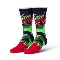 Mountain Dew Camo Knit Socks, 6-13
