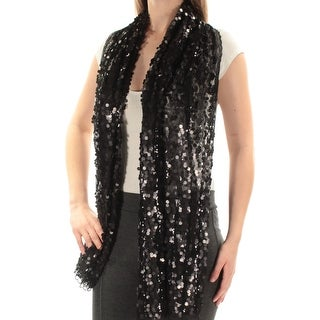 Womens Black Open Cardigan Top Size ONE SIZE
