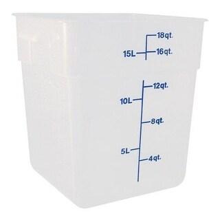 Cambro - 18SFSPP190 - 18 qt CamSquare® Food Storage Container