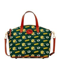Dooney & Bourke NFL Green Bay Packers Small Gabriella Top Handle Bag (Introduced by Dooney & Bourke at $228 in Aug 2017)