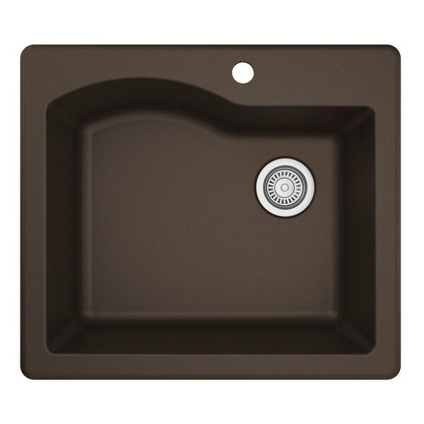 Karran Drop-In Quartz Single Bowl Kitchen Sink. Opens flyout.