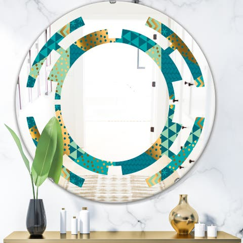 Glass Wall Mounted Mirrors Shop Online At Overstock