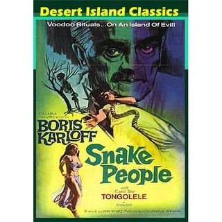 Snake People DVD Movie 1971