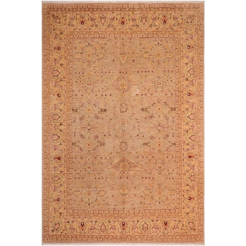 """Bohemien Ziegler Colene Hand Knotted Area Rug -7'10"""" x 9'9"""" - 7 ft. 10 in. X 9 ft. 9 in."""