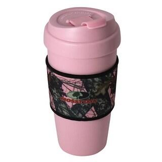 Shop Mossy Oak 16 Oz Travel Mug With Break Up Pink Camo
